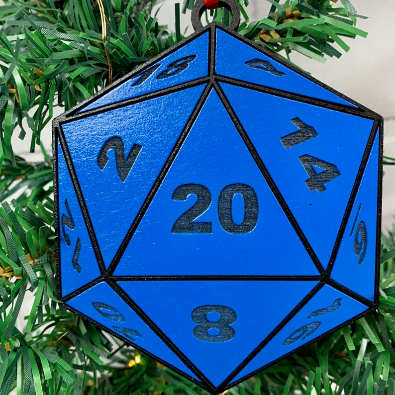 NEW DESIGN Meeple Christmas Ornament Game Piece Ornament image 0
