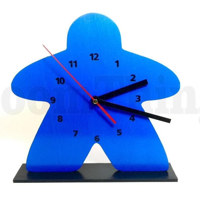 Meeple Clock Game Room Decor Game Room Clock Clock Meeple image 0