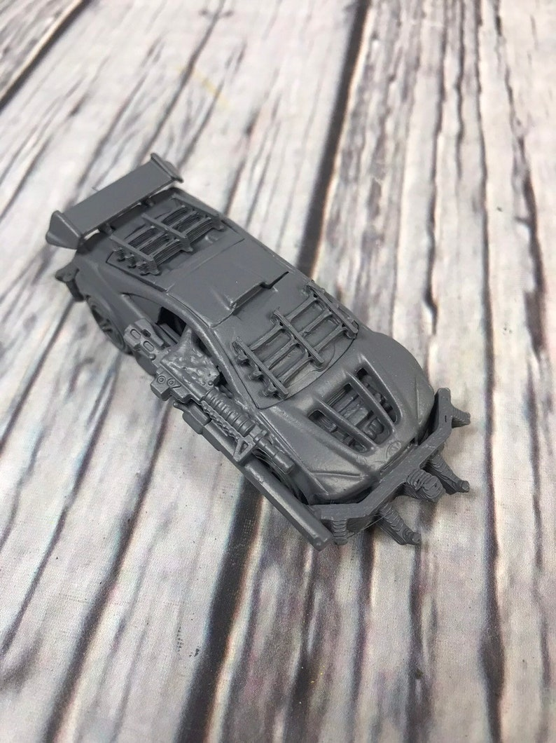 Custom Vehicle  Assembled and primed for playing or painting image 0