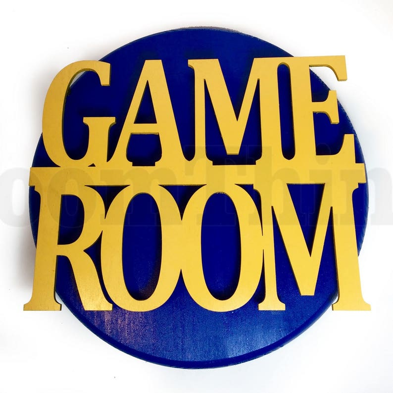 Game Room Sign Game Room Decor Gaming Decoration Game Room image 0