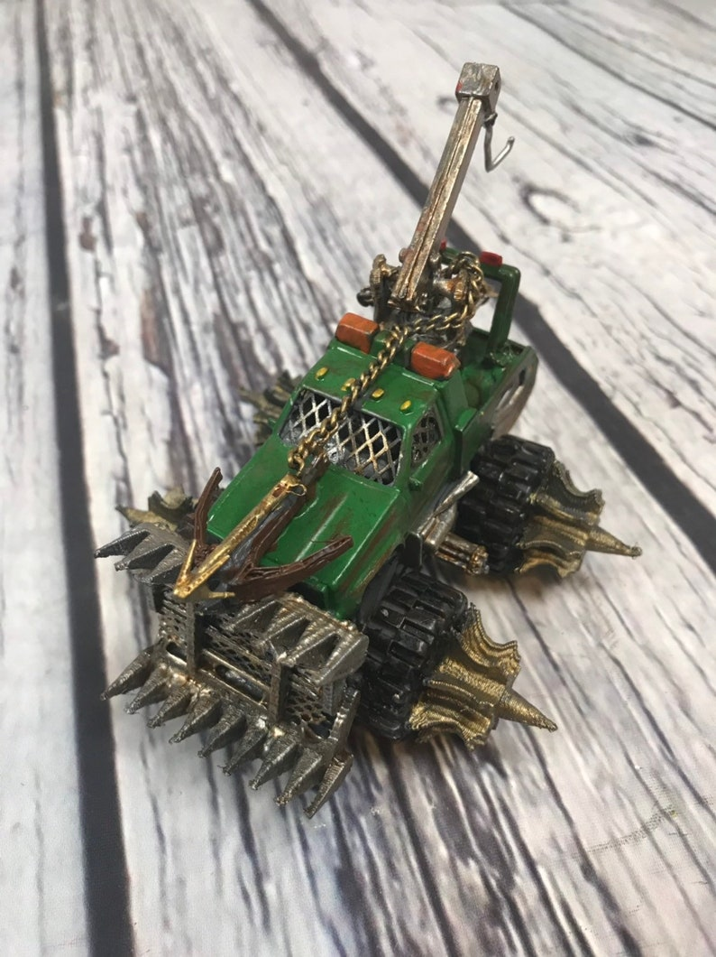 Custom Vehicle for Gaslands  Assembled and painted image 0