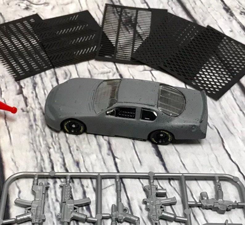 Gaslands starter car kit. Make your own Gaslands car Includes image 0