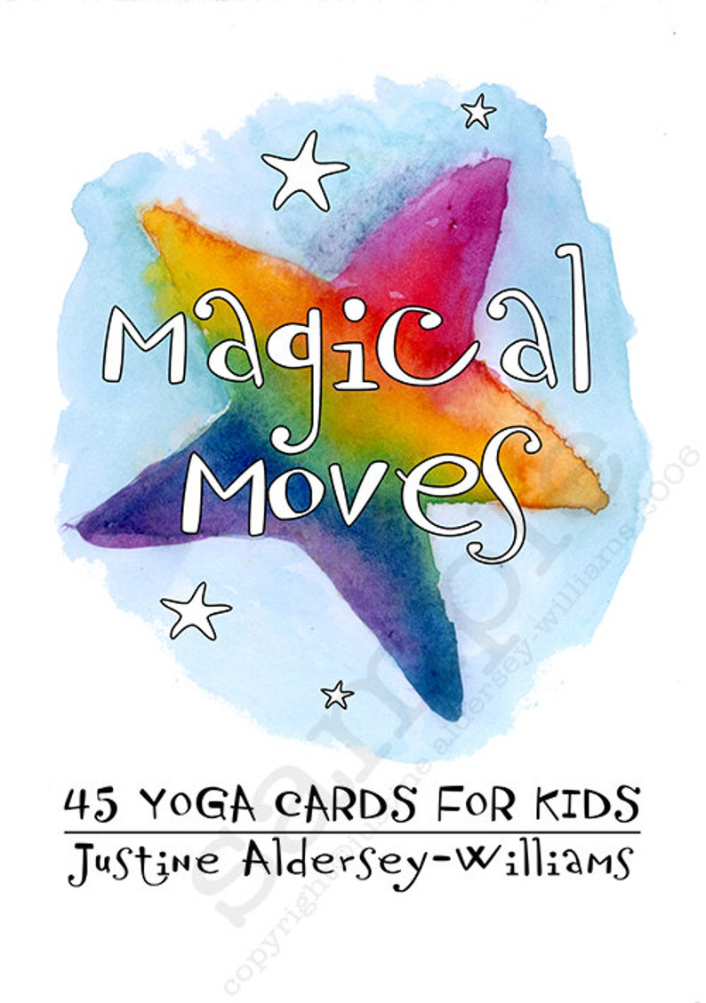 image relating to Printable Yoga Cards known as 45 Printable Childrens Yoga Playing cards toward Down load - For mother and father who have to have in direction of percentage yoga with their youngsters