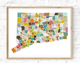 Collage Art: States
