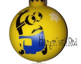 more colors ooak custom minion ornament - Minion Christmas Ornament