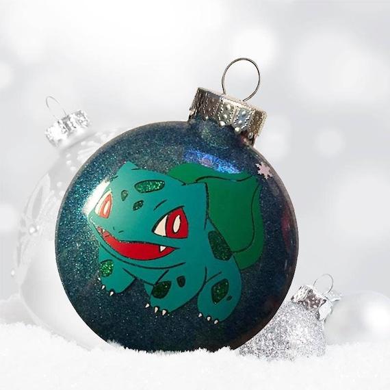 2139eb04 Pokemon Ornament Custom Pokemon Bulbasaur Christmas Gift | Etsy