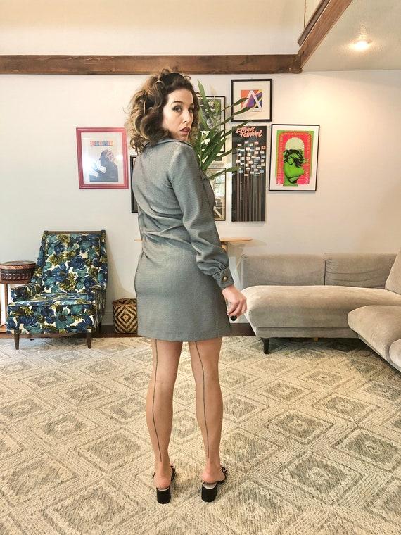 60s Mod Mini Dress - image 6