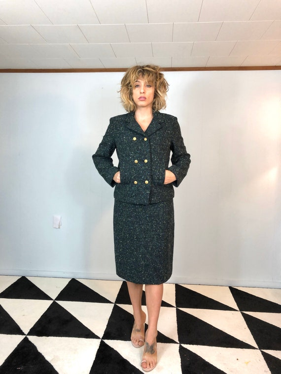 50s Pendleton Skirt Suit