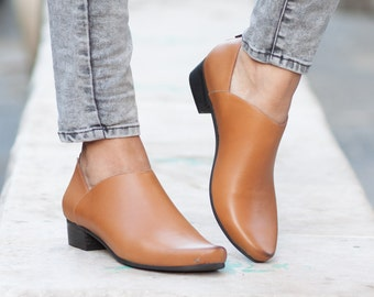 Leather Booties, Ankle Boots, Leather Boots, Winter Shoes, Free Shipping, Riding Boots, Women Shoes