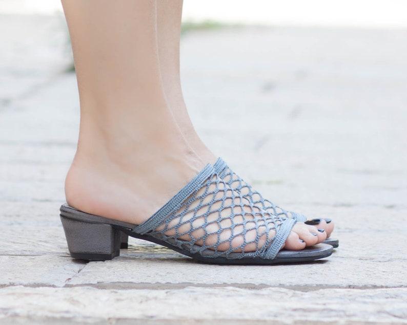f43f48de08a03 Women Sandals, Women Summer Shoes, Yellow Clogs, Mules, Net Flip-Flops,  Women Sandals, Heeled Sandals, Yellow, Free Shipping
