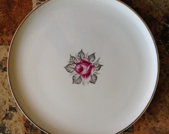 Royal Jackson Normandy Rose large serving platter