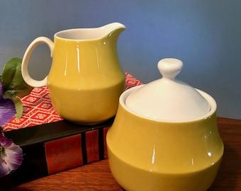 """Vintage Mikasa """"Sandra"""" creamer and sugar bowl set made in Japan"""