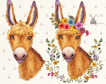 Donkey Clip Art Image Transparency, PNG, 2750x2089px, Donkey, Animal  Figure, Burro, Drawing, Horse Download Free