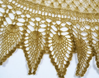 Green(Khaki) Shawl,Mohair Shawl,Bridal Shawl,Handmade Shawl,Wool Shawl,Knit Shawl,Wedding Shawl,Knitted Shawl,Gray Scarves,Women Accessories