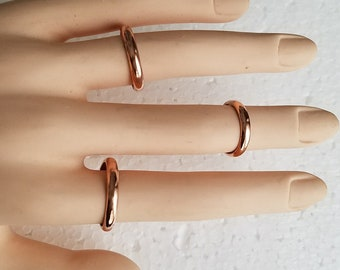 Copper jewelry Brotherhood ring Bridesmaid gift Italian jewelry Silver ring Sculpture ring Copper ring Minimalist ring Vegan jewelry