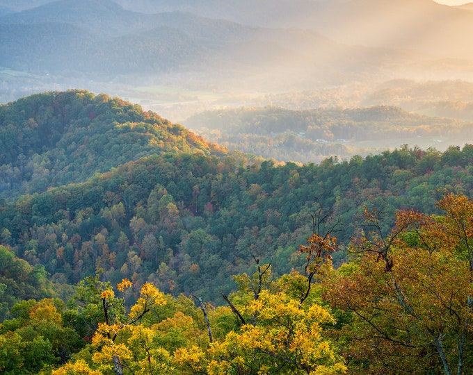 Autumn Evening on the Foothills Parkway II