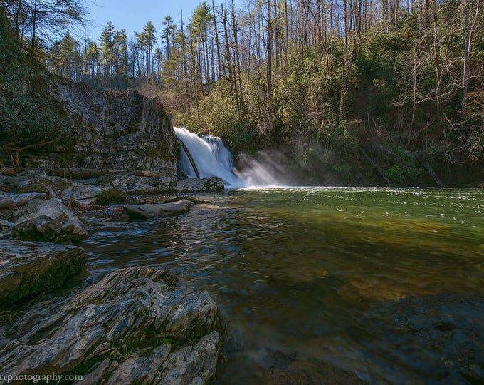 January at Abrams Falls