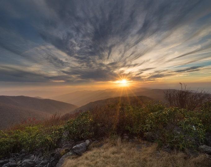 Rocky Top Sunset November