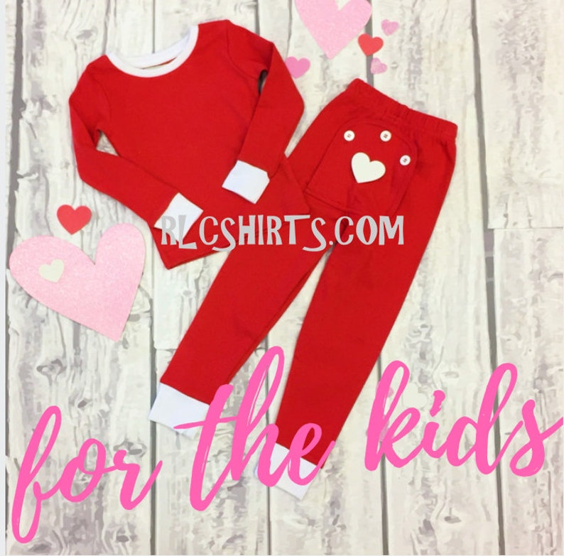 Valentine s Pajamas. Personalized Valentine Pajamas  7a7eb06ba
