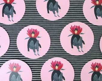 Flower Gurl sticker