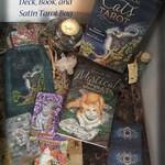 Special Combo Pack Mystical Cats Tarot Deck, Book and Satin Tarot Bag or Tarot Tin