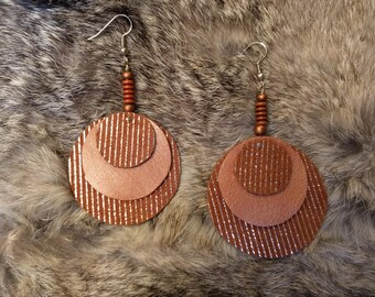 Layered Circle Earrings