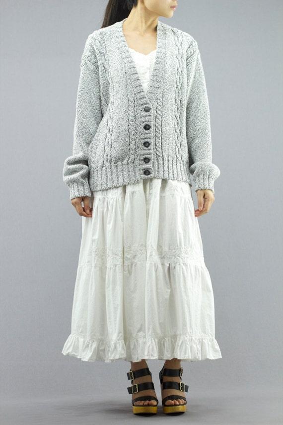 Liz Sport Cable Knit Cardigan Sweater   Jumper Women s  a66343c99