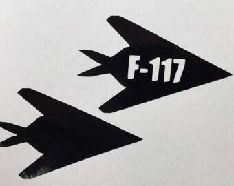 F-117 Vinyl Sticker