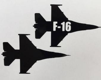 F-16 Vinyl Sticker