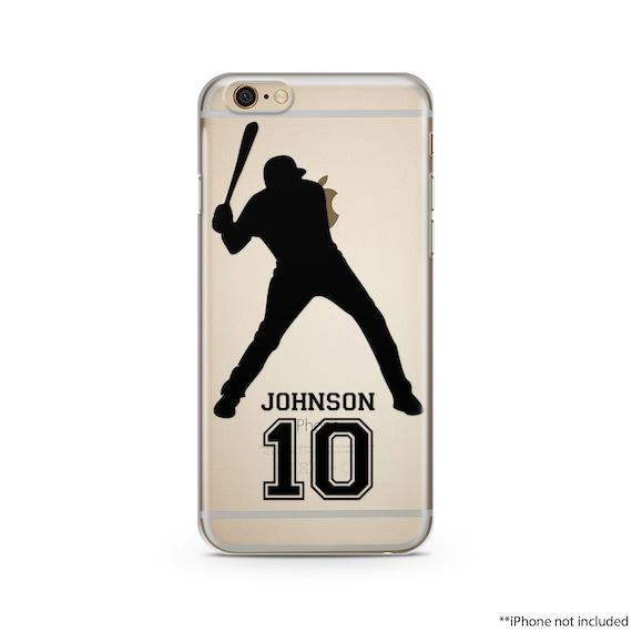 pretty nice c031b a1be0 Baseball Case With Name And Number, Baseball Custom Case, Baseball Iphone  Case, Baseball Case, Baseball Iphone 6 Case