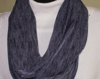 Gray Infinity Scarves, Gray scarves, Fashion Scarves, Knit Scarves, Circle Scarves, Eternity Scarves, J'NING Accessories, J'NING Fashions