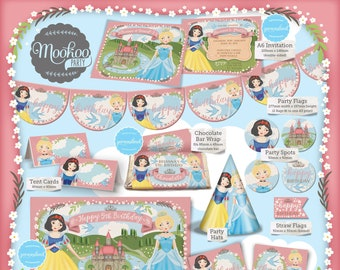 Princess Party Printable Package