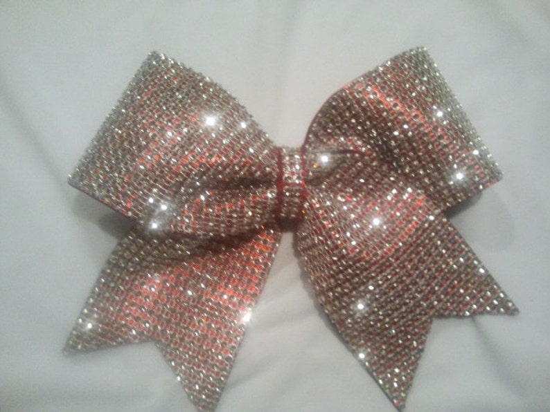 869c6239e942dd Big Bling Cheer Bow 3 Texas Size Red with
