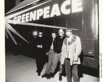 U2 Greenpeace Alternative NRG 1993 Official Promo 8x10 Hollywood Records Press Photo