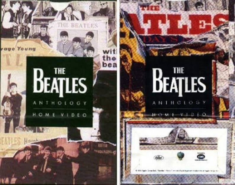Beatles ANTHOLOGY 1 2 3 US Capitol Apple Promotional Only Popcorn Bag 1996