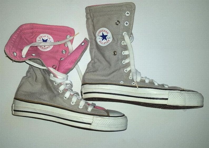 9896321a2c3c Vintage USA-MADE Converse NEEHI All Star Chuck Taylor Gray
