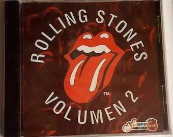 ROLLING STONES Volumen 2 Mexico-only 1994 CD Coca-Cola Promotional Item New-Sealed