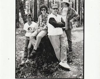 Neil Young Crazy Horse 1997 Original Reprise Promo 8x10 Press Photo