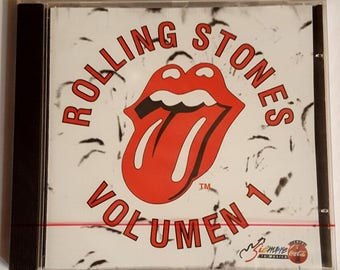 ROLLING STONES Volumen 1 Mexico-only 1994 CD Coca-Cola Promotional Item New-Sealed