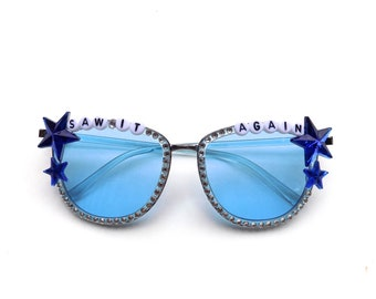 "Phish ""Saw It Again"" decorated sunglasses by Baba Cool 