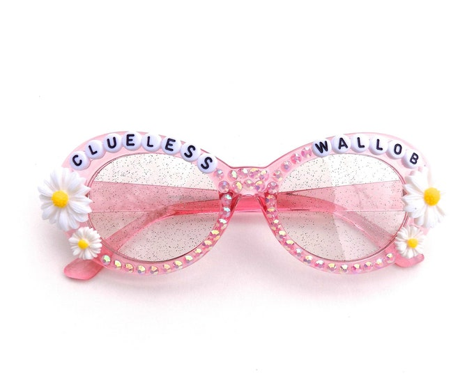 """Kasvot Vaxt ~ Turtle in the Clouds """"Clueless Wallob"""" decorated glasses by Baba Cool 