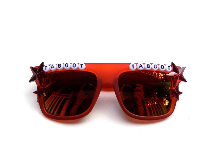 "Phish Llama ""Taboot Taboot"" decorated sunglasses by Baba Cool 