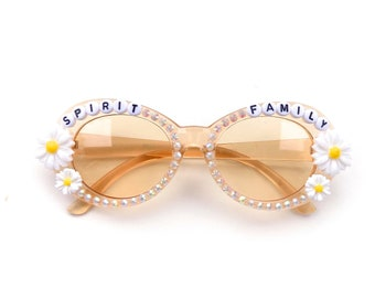 "Phish Set Your Soul Free ""Spirit Family"" decorated sunglasses by Baba Cool 