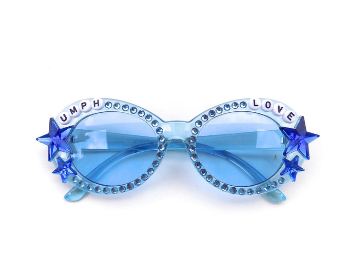 """More Colors! Umphrey's McGee """"Umph Love"""" decorated sunglasses by Baba Cool 