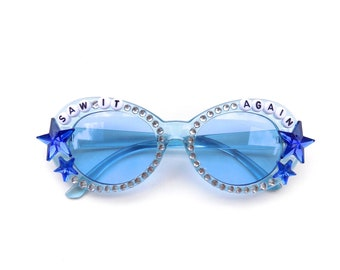 """Phish """"Saw It Again"""" decorated sunglasses by Baba Cool 