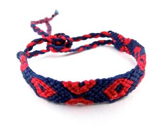 """Fishman Donut """"Phriendship"""" Bracelet   macrame Phish-inspired donut bracelet   adjustable bracelet or anklet"""