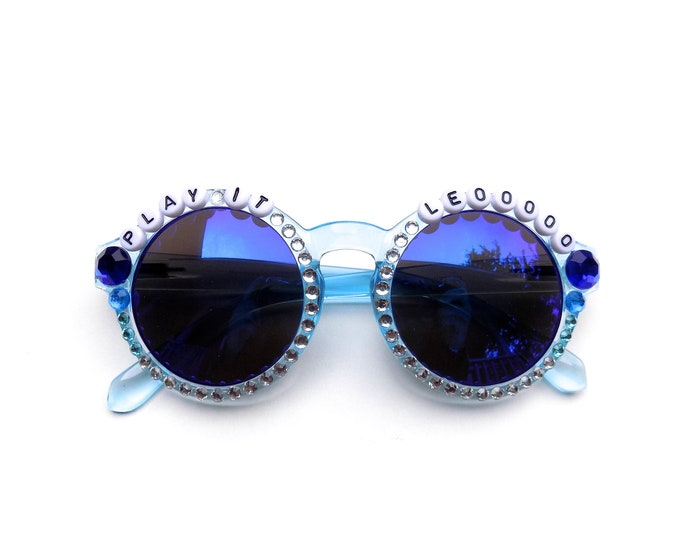 "Phish ""Play It Leo!"" decorated sunglasses by Baba Cool 
