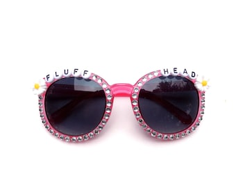 "Children's ""Fluffhead"" decorated sunglasses by Baba Cool 
