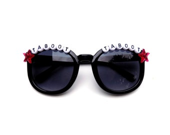 "Children's Llama ""Taboot Taboot"" decorated sunglasses by Baba Cool 