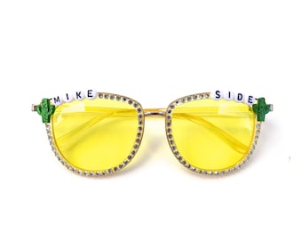 """Phish """"Mike Side"""" decorated sunglasses by Baba Cool 